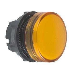 FRONTAL SINALEIRO PLAST. 22MM REDONDO P/LED AM
