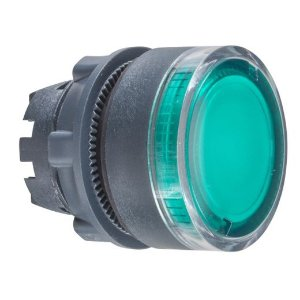 CABECOTE 22MM BOTAO LUM. NOR. LED INT VD