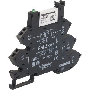 RELE INTERFACE ZELIO SLIM 1NA+1NF MOLA 6MM 24VCC 6A