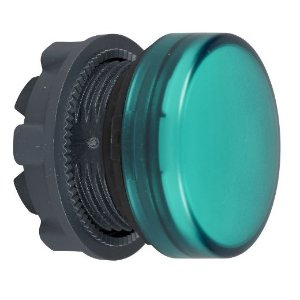 FRONTAL SINALEIRO PLAST. 22MM REDONDO P/LED VD