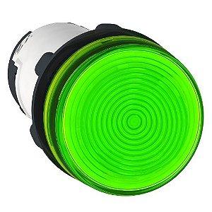 SINALEIRO PLAST. 22MM REDONDO P/LAMP. BA9S 0-250V VD ECON.