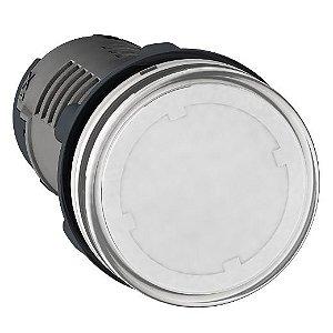 SINALEIRO PLAST. 22MM REDONDO C/LED  220V BC ECON.