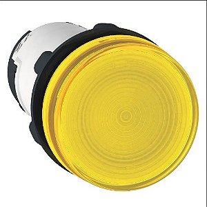 SINALEIRO PLAST. 22MM REDONDO P/LAMP. BA9S 0-250V AM ECON.