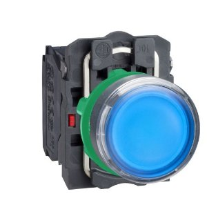 BOTAO 22MM LUMINOSO LED 24VCA/CC 1NA+1NF AZ