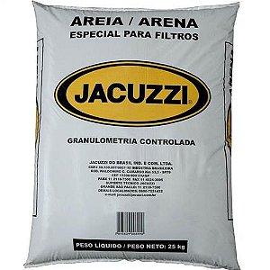 Areia para filtro de piscina Jacuzzi 25Kg