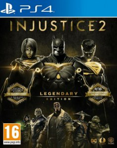 Injustice 2 Legendary Edition Ps4 Digital