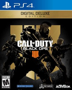 Call of Duty Black Ops 4 Deluxe Edition Ps4 Digital
