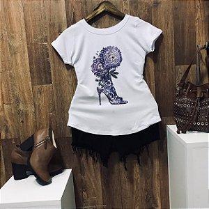 T-shirt  Flower Shoe