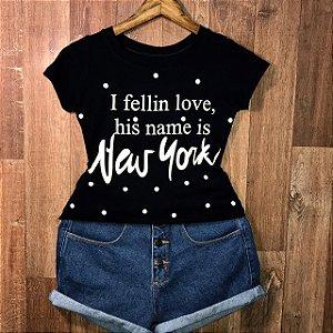 T-shirt New York Poá