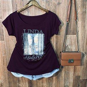 T-shirt Plus Size Linda Jeans