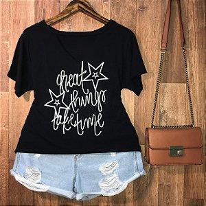T-shirt Shocker Great Things GG Black