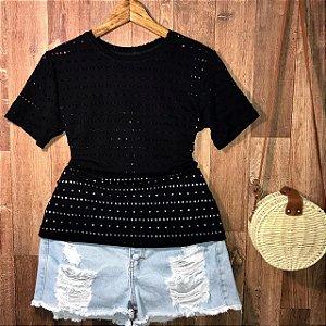 T-shirt Fashion Black