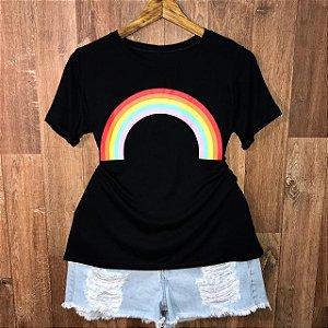 Camiseta Top Arco Iris