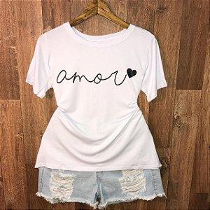Camiseta Top Amor Linda