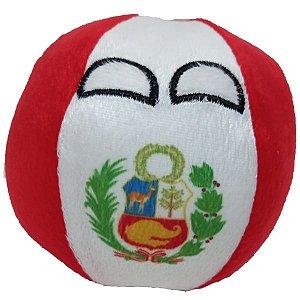 Perúball De Pelúcia Countryball