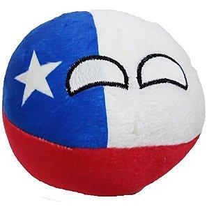 Chileball De Pelúcia Countryball