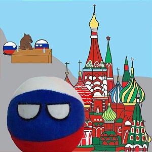 Rússia De Pelúcia Rússiaball Countryball