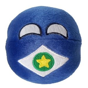 Mato Grosso De Pelúcia Bolinha MTball Countryball