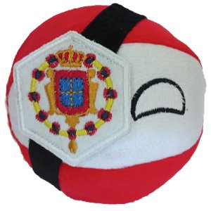 República das Duas Naçõesball De Pelúcia Countryball