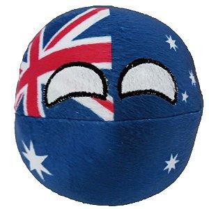 Austráliaball de pelúcia Countryball