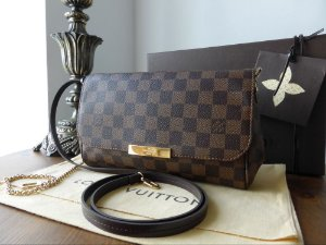 Bolsa Louis Vuitton Clutch Favorite Ebony