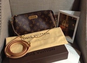 Bolsa Louis Vuitton Eva Clutch Monogram