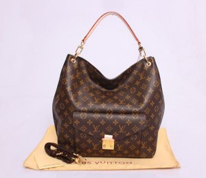 Bolsa Louis Vuitton Metis Hobo Monogram