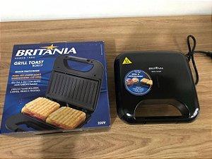 Grill Toast Britânia BRG01P