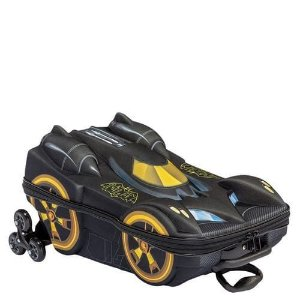 MOCHILA 3D BATMAN COM RODAS BEWARE