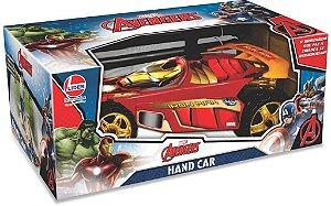 Carro Hand Car Avengers Homem de Ferro