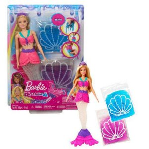 Barbie Dreamtopia Sereia Slime