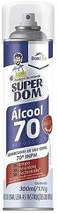 Álcool 70% Aerosol Super Dom 300 ml
