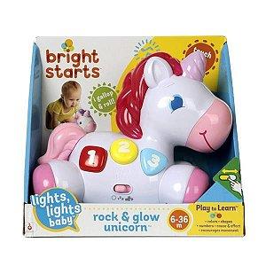 Unicórnio Rock e Glow - Bright Starts