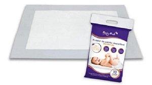 Protetor De Colchão Descartável Baby Bath - Com 10 unid