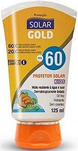 PROTETOR SOLAR GOLD FPS 60 1/3 UVA KIDS 125ML