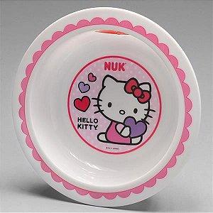 Prato Fundo Bowl Infantil Hello Kitty - Nuk