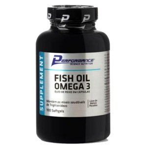 FISH OIL ÔMEGA 3 - PERFORMANCE NUTRITION 100 cápsulas