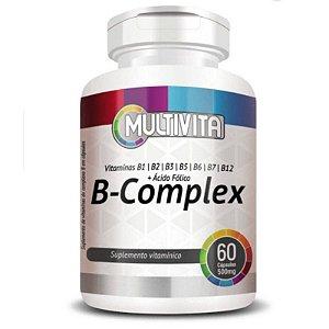 B-Complex (Vitaminas do Complexo B) 60 cápsulas - Multivita
