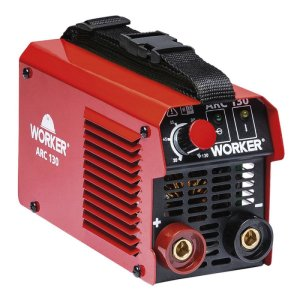 Máquina Inversora para solda ARC 130 A 220 V Worker