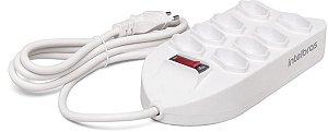 Protetor Eletrônico com 8 Tomadas EPE1008+