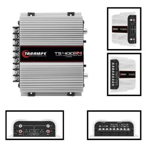 Modulo Taramps Ts 400x4 2 Ohm 400 W RMS TS 400 Amplificador