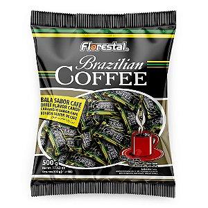 Pacote Balas Dura de Café Brazilian Coffe Florestal 500g