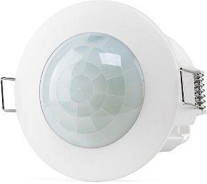 Sensor presença de embutir para iluminação ESP 360 E bivolt Intelbras