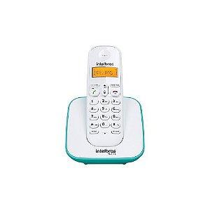 Telefone Sem Fio Intelbras Ts 3110 Branco E Azul Claro Bina