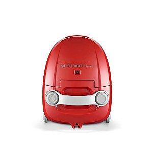 aspirador de pó Multilaser 220 V  1200w c/ saco para pó Vermelho - HO02