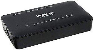 Switch 8 Portas Fast Ethernet Intelbras Sf 800 Vlan Ultra 10/100 Mbps