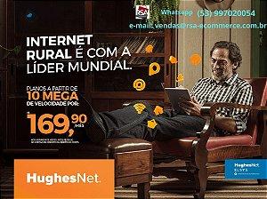 HughesNet Lider Mundial em Internet por Satélite. Para adquirir este produto contatemos pelo Whasapp (53) 997020054