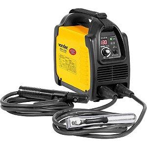 Máquina Solda Inversora Portátil Bivolt Digital RIV 136 Vonder
