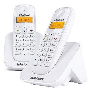 Telefone Sem Fio Intelbras Ts3112 Digital Com Ramal Branco