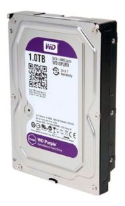 Hd Disco Rigido Sata 1 T B Western  Wd Purple Dvr Intelbras